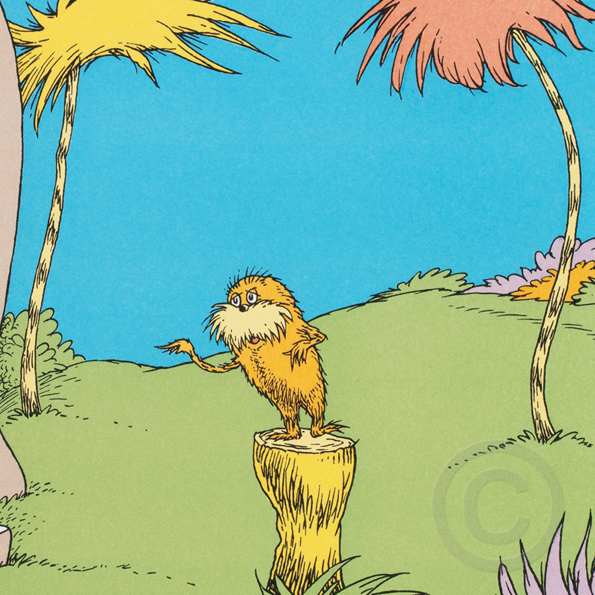 I Am The Lorax I Speak For The Trees The Art Of Dr Seuss