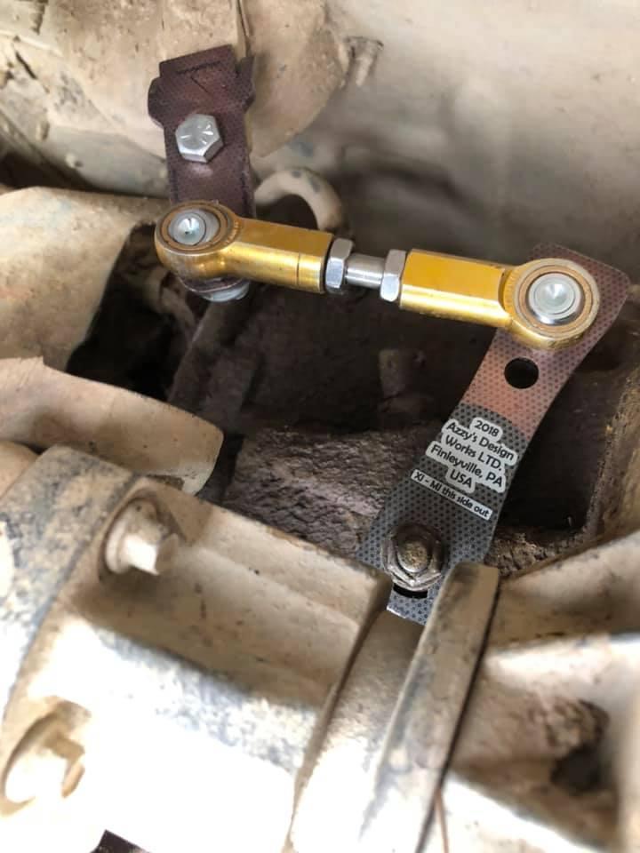 Jeep Cherokee XJ transfer case linkage kit — Azzy's Design Works