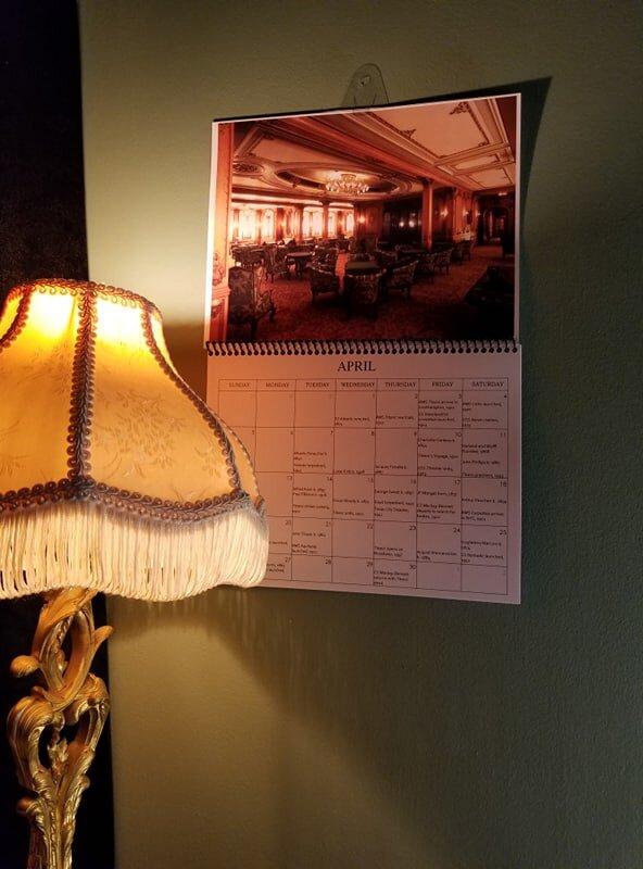 Kalender //2020//Neu Titanic