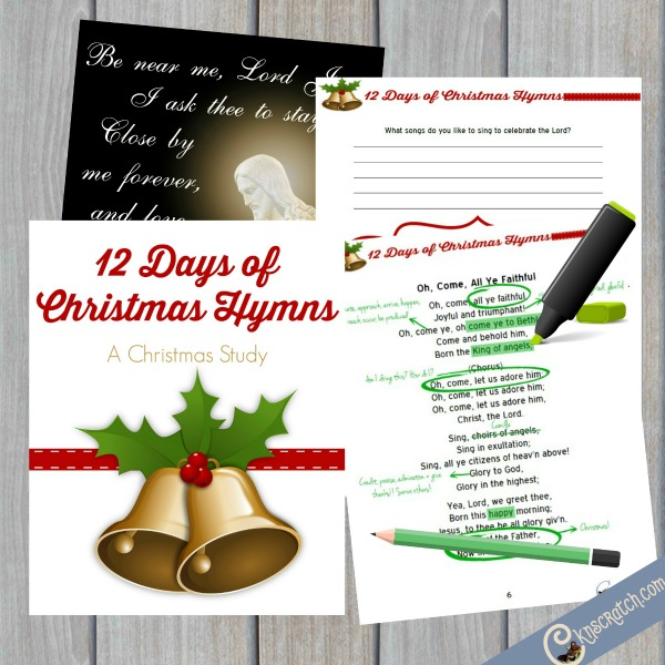 Lds Christmas Hymns.12 Days Of Christmas Hymns Chicken Scratch N Sniff