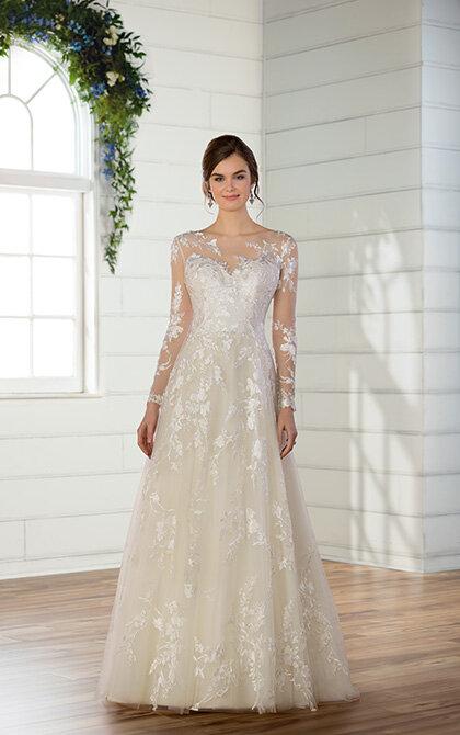 Long Sleeve Wedding Gown On Sale Bon Bon Belle Bridal Boutique