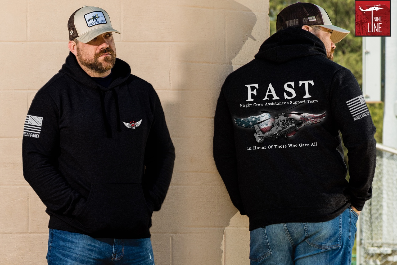 FAST Team Fundraiser Sweatshirt (Nine Line Apparel) — ECHO - Every Coast  Helicopter Operations