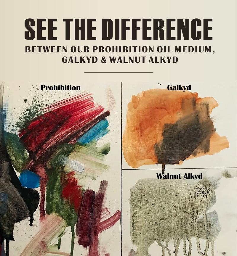 Prohibition Oil Painting Medium — Edge Pro Gear