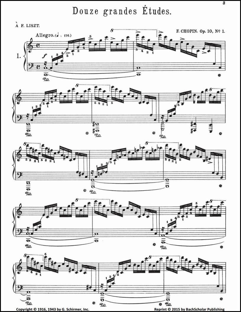 Chopin: Complete Études (ed  Mikuli) — BachScholar®