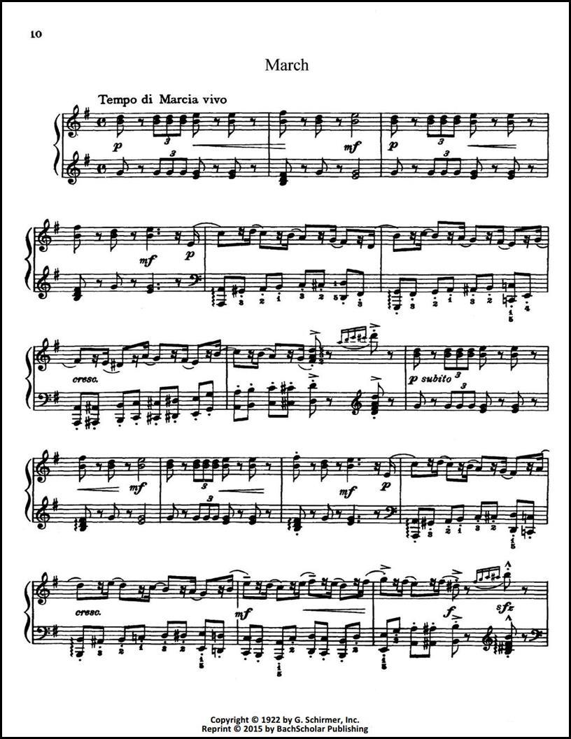 Tchaikovsky The Nutcracker Suite Op 71a Trans Esipoff Bachscholar