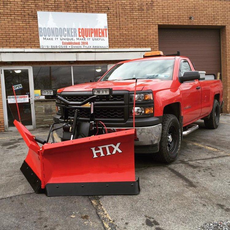 New Boss Htx Straight And V Blade Boondocker Equipment Inc