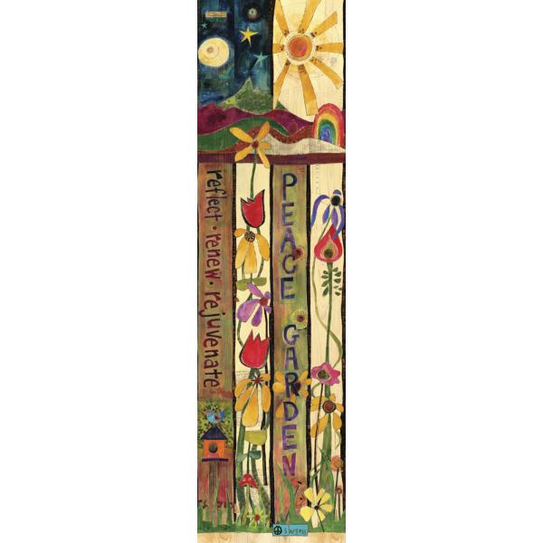 Peace Garden 6 Art Pole Earthenworks