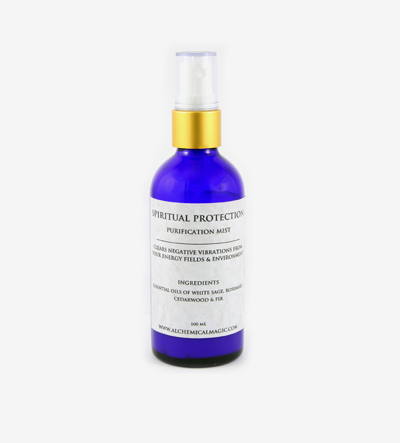 SPIRITUAL PROTECTION PURIFICATION MIST — Alchemical Magic