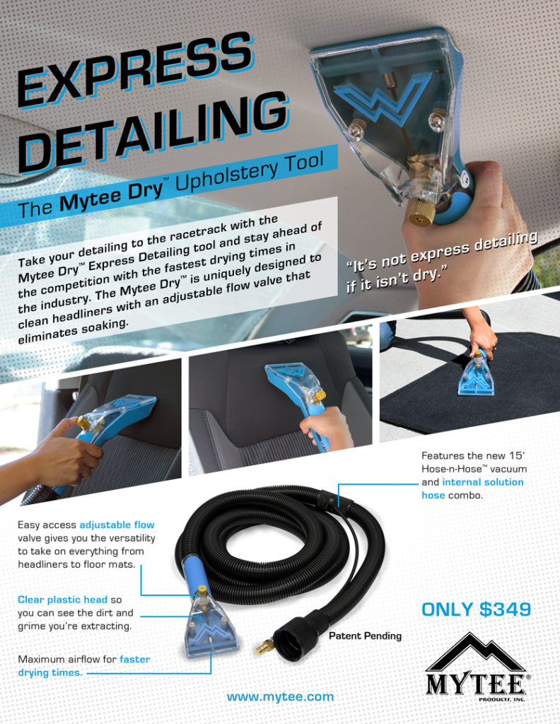 Mytee 8400DX Dry Upholstery Tool