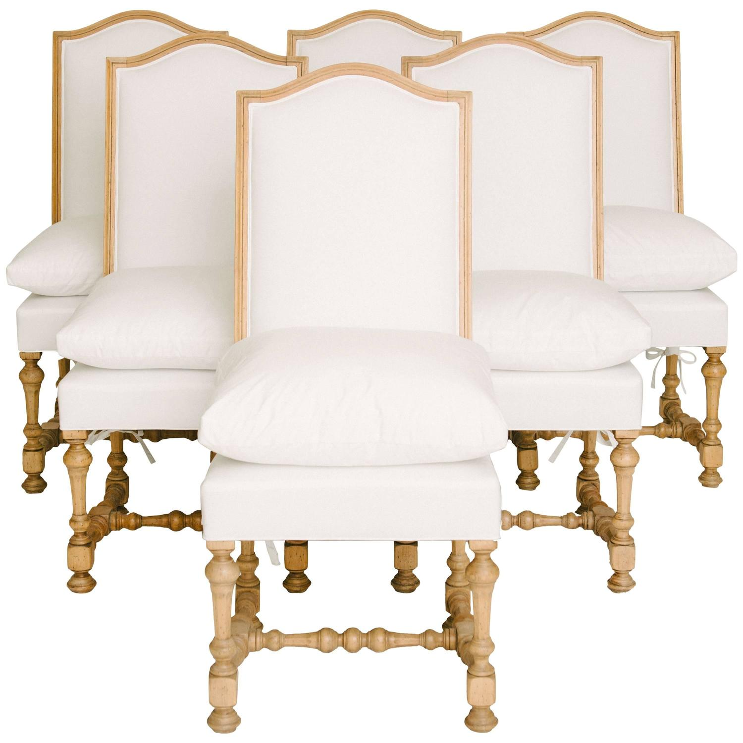 Louis Xiv Style Dining Chairs