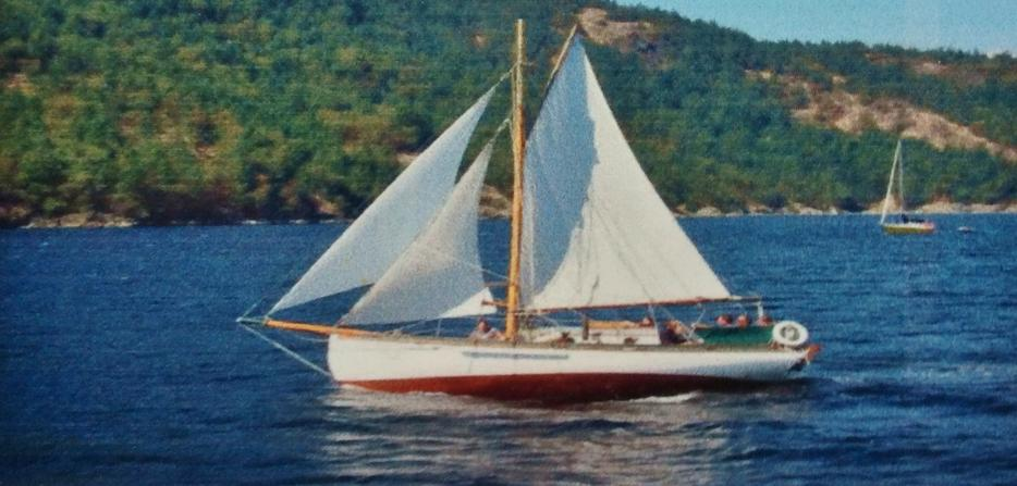 24' Lyle Hess Cutter -Price reduced- — Abernethy and Gaudin Boatbuilders  Ltd