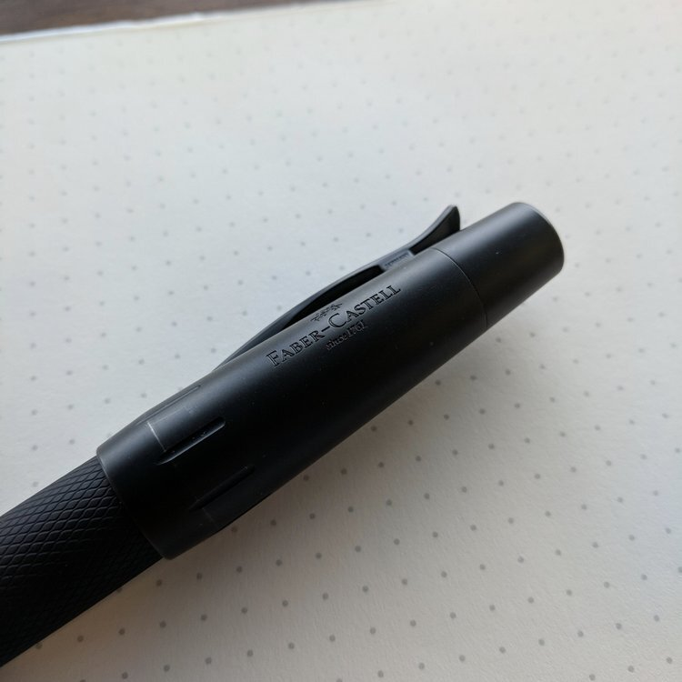 虚荣心-Faber-Castell-E-Motion-Pure-Black