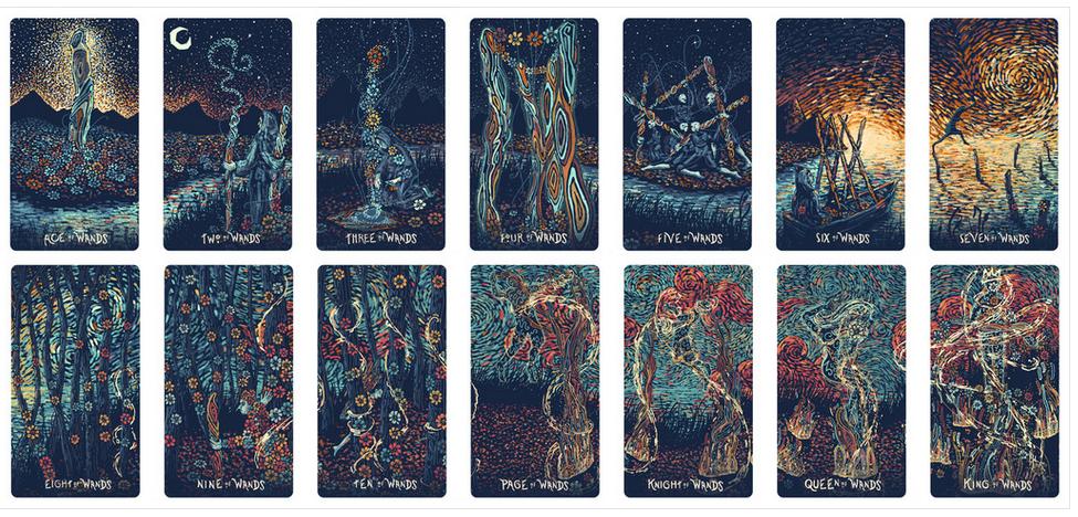PRISMA VISIONS TAROT — Psychic Sister