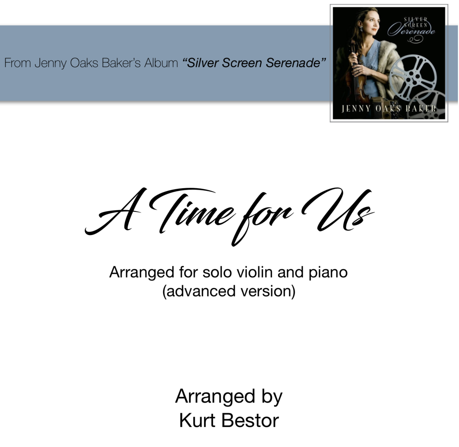 A Time for Us Sheet Music