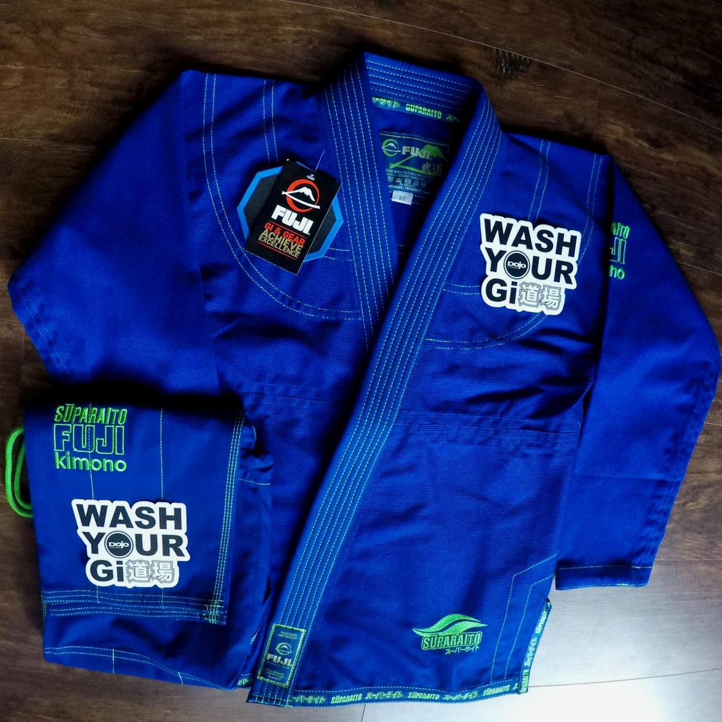 Fuji Suparaito Blue — Dojo Outfitters