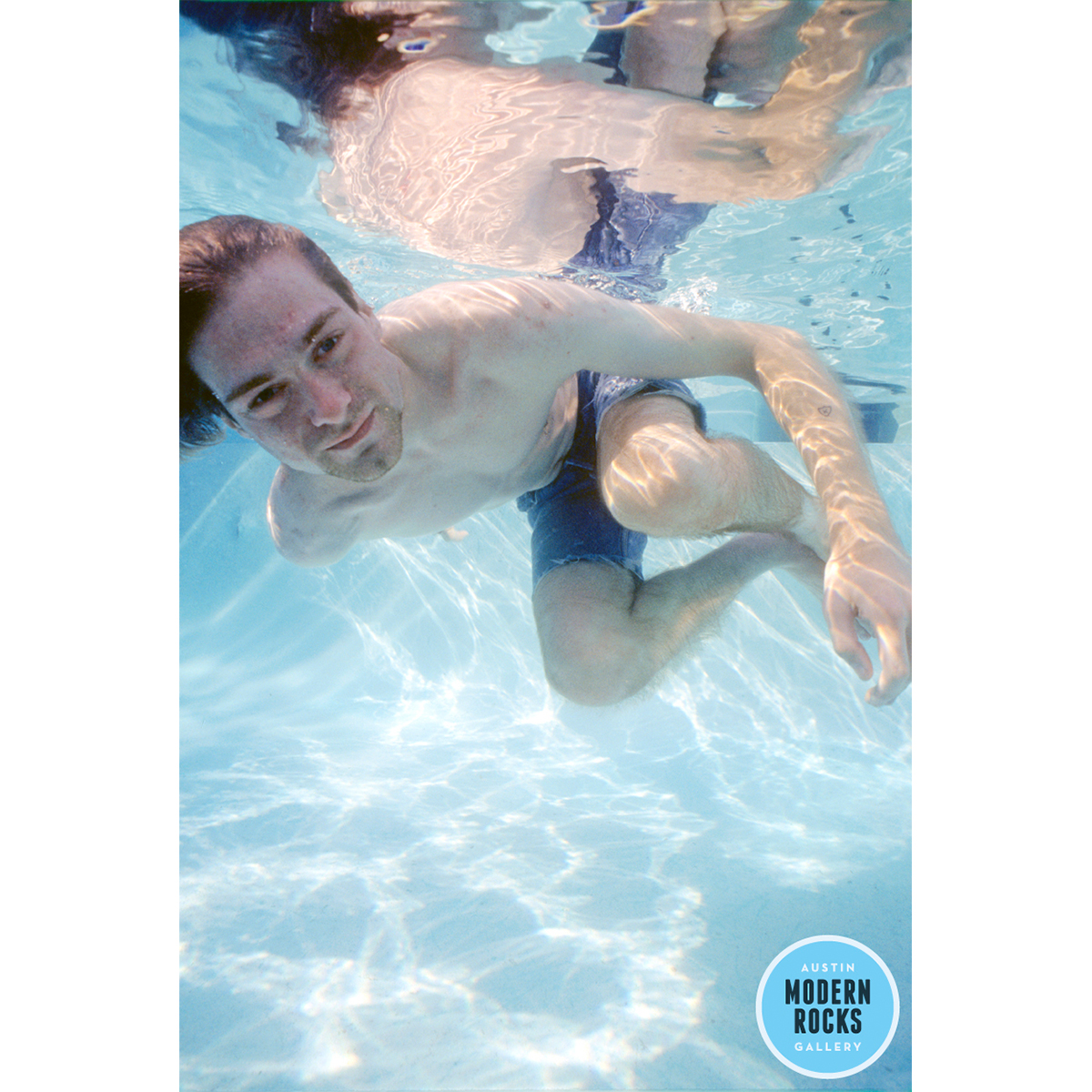 Kurt Cobain Nirvana Nevermind Swimming Pool Photo — Buy Signed Limited  Edition Prints
