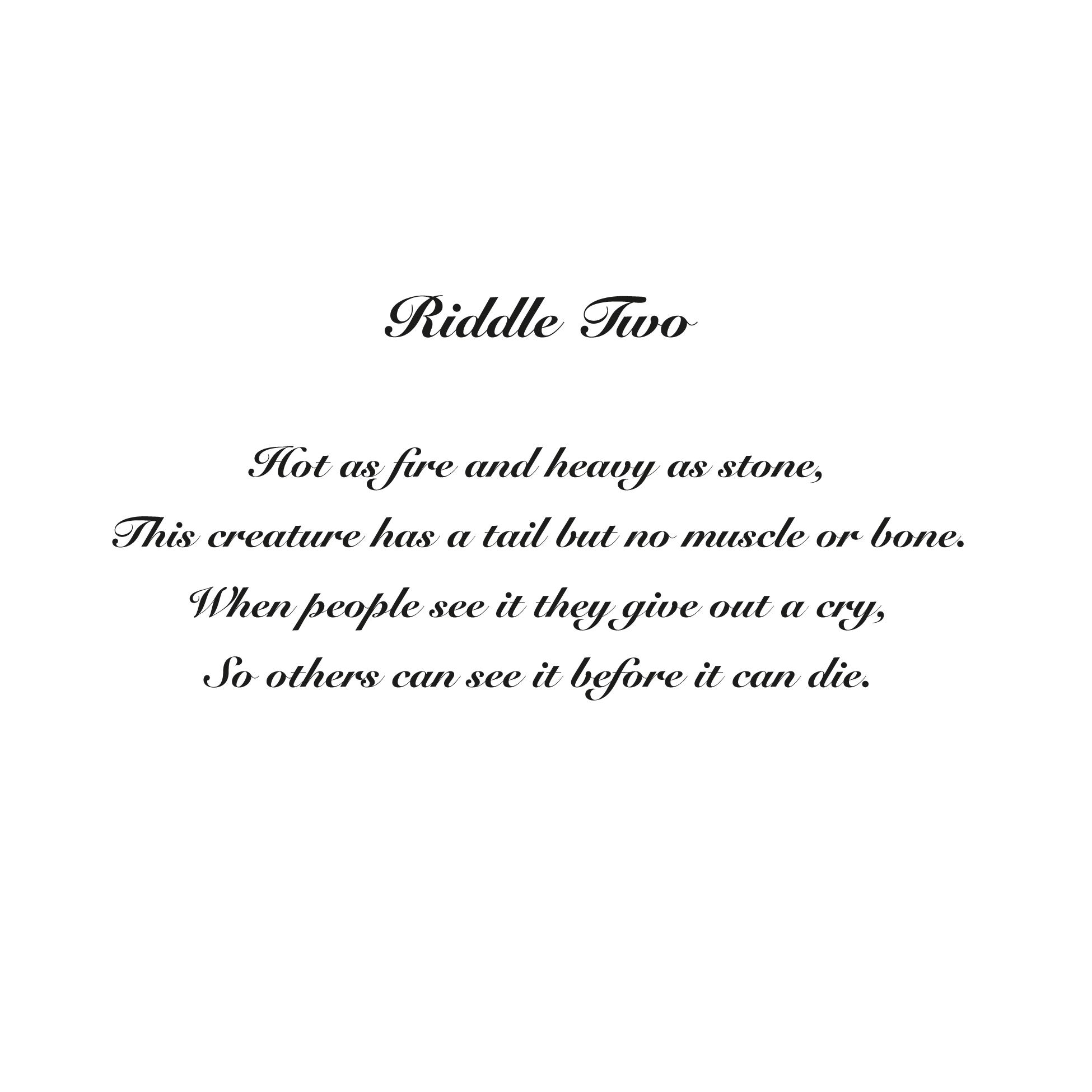 7 River Riddles