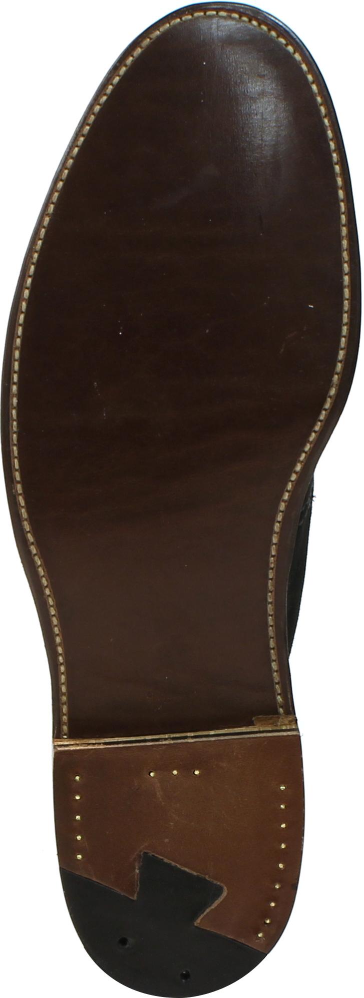 198b72d325f 1497 - Alden Unlined Chukka Boot Flex Welt - Black Suede