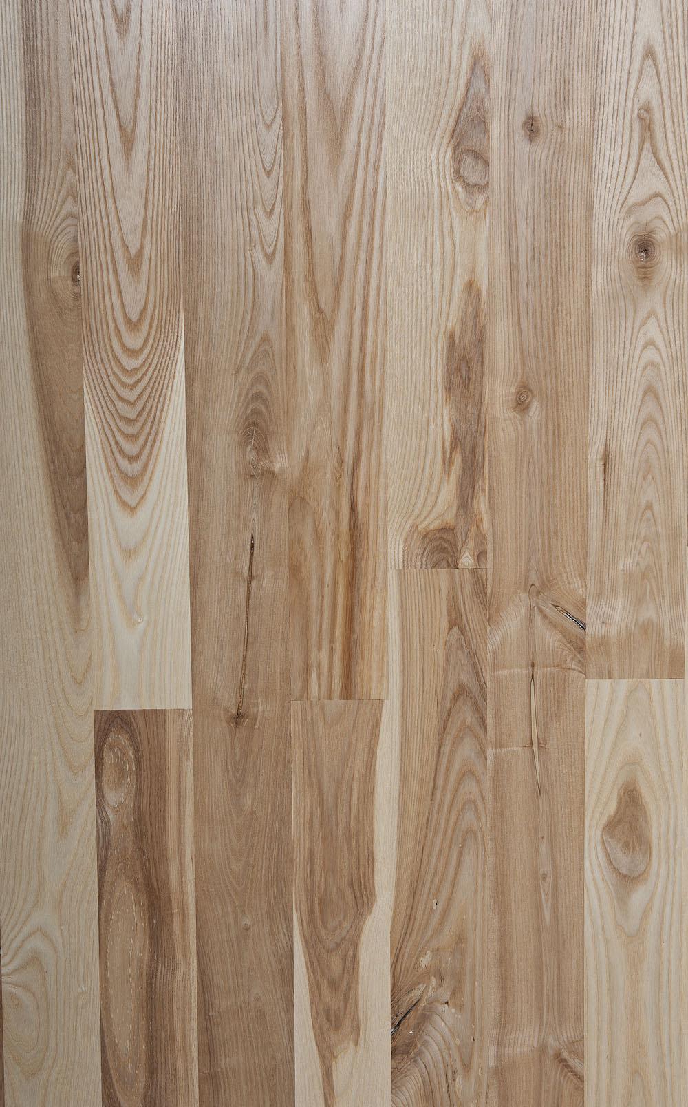 Unfinished Ash Boardwalk Hardwood Floors