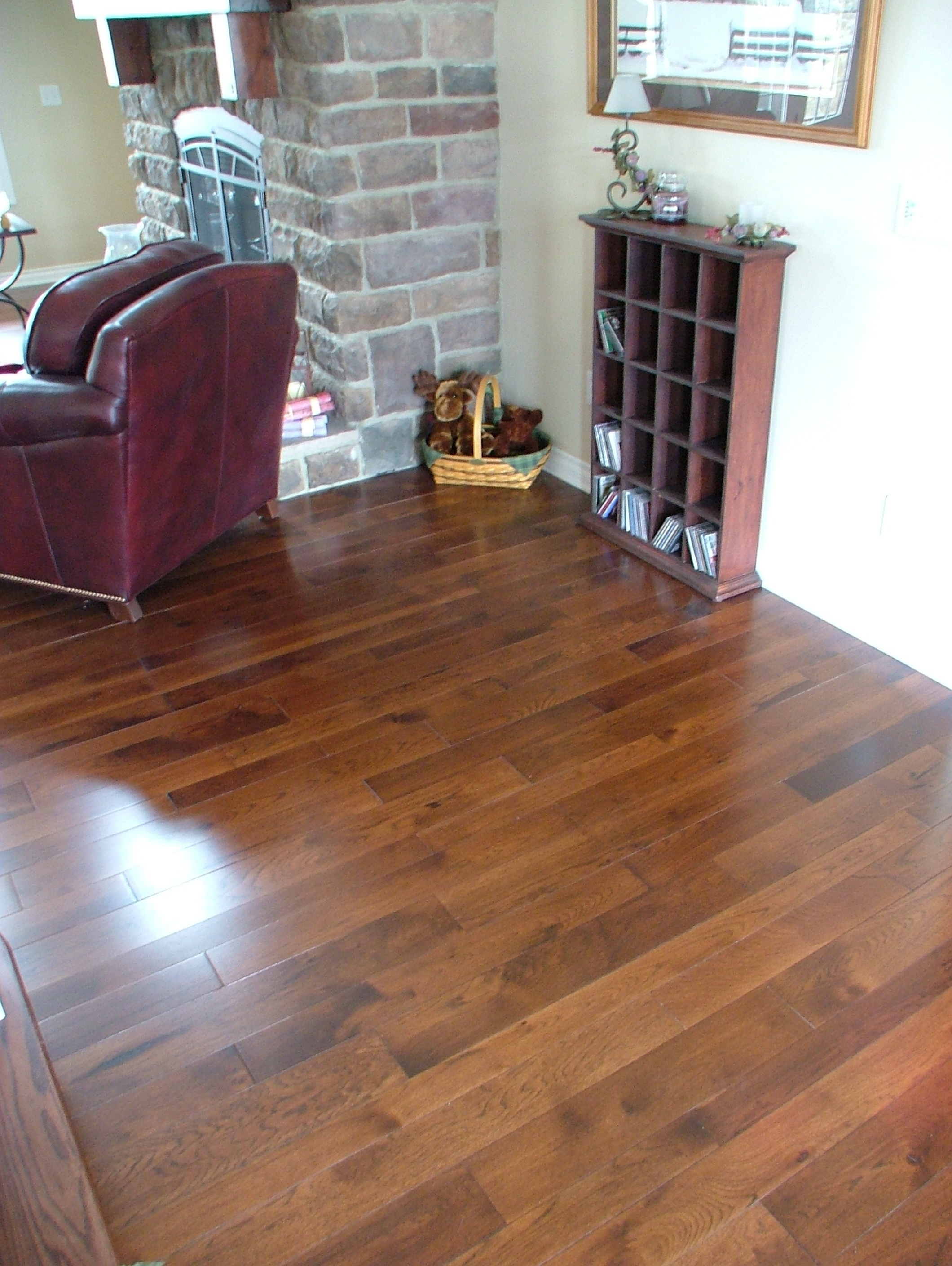 Black River Hickory Boardwalk Hardwood Floors