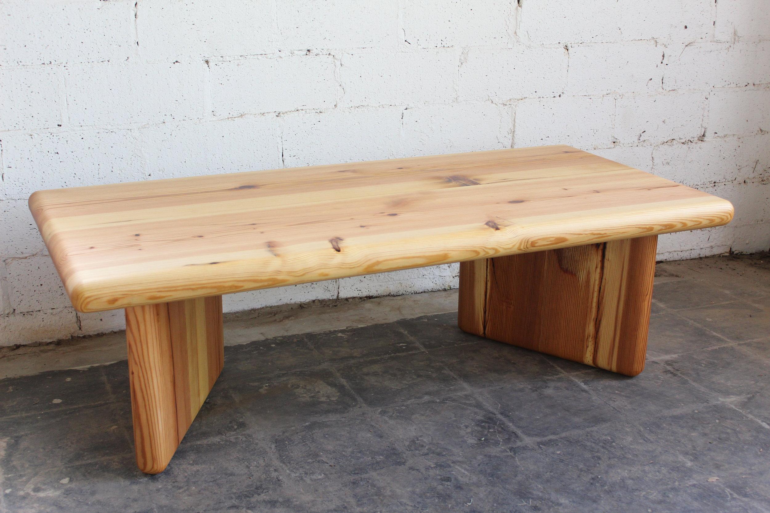 Reclaimed Heart Pine Coffee Table