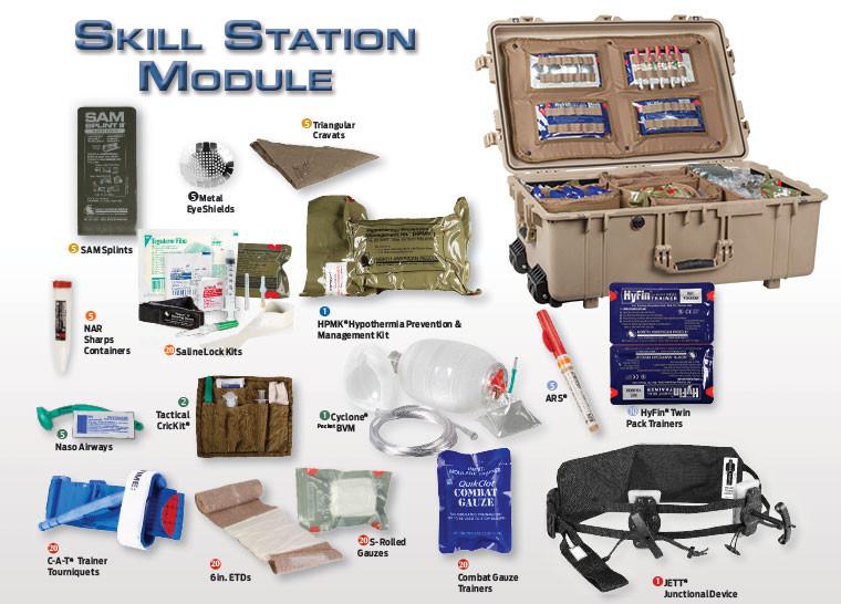 TCCC/TECC Modular Training System — Spent Brass Training Solutions