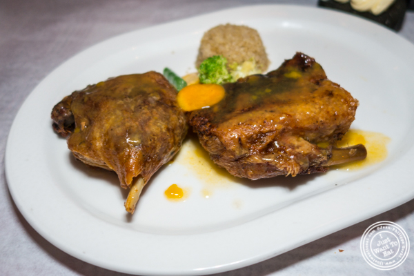 Duck at Paname, French restaurant, in 纽约市, NY