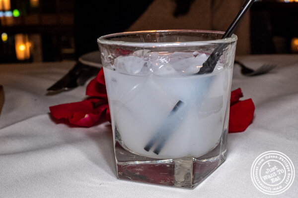 Ouzo at Ammos Estiatorio in 纽约市, NY