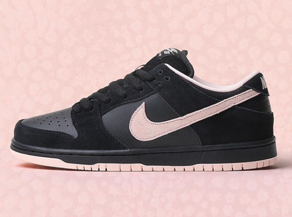 on sale a5514 2acbf Nike SB Dunk Low Pro- Black/Washed Coral-Black — Theory Skateshop