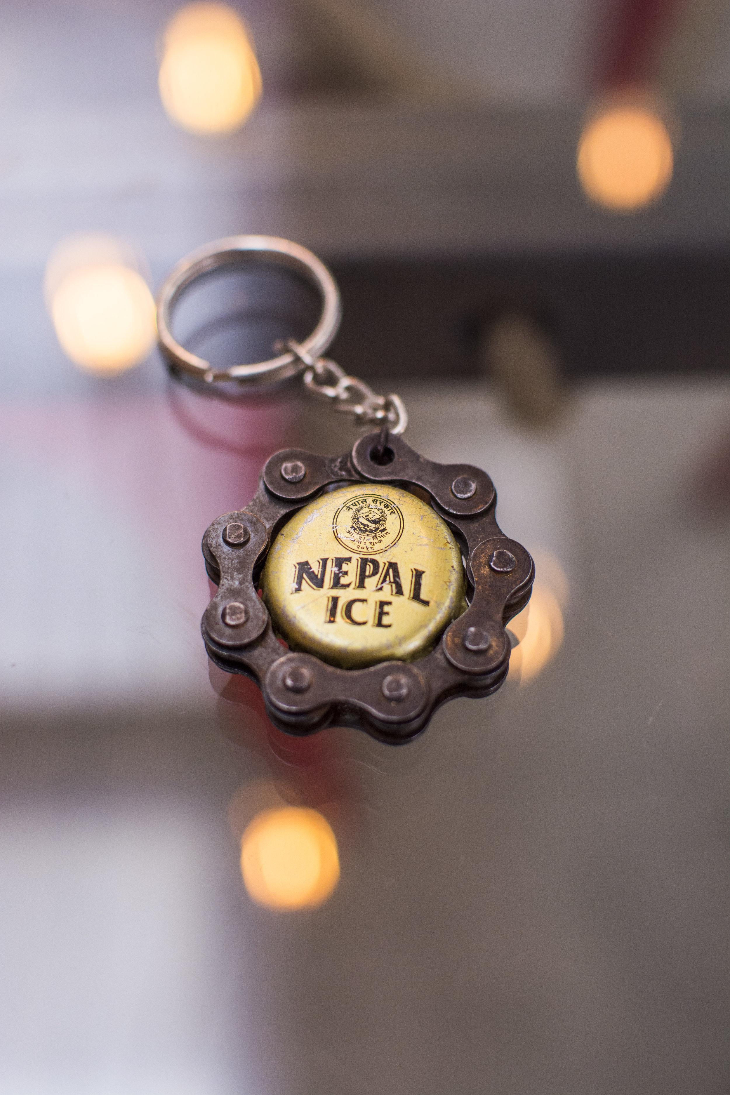 Keychain - Nepal Bottle Cap — Portal Bikes