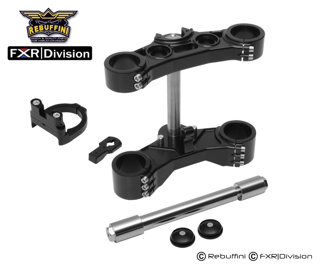 COMPLETE FXR Division/Rebuffini Scotts Stabilizer Ohlins Inverted Front End  — FXR Division