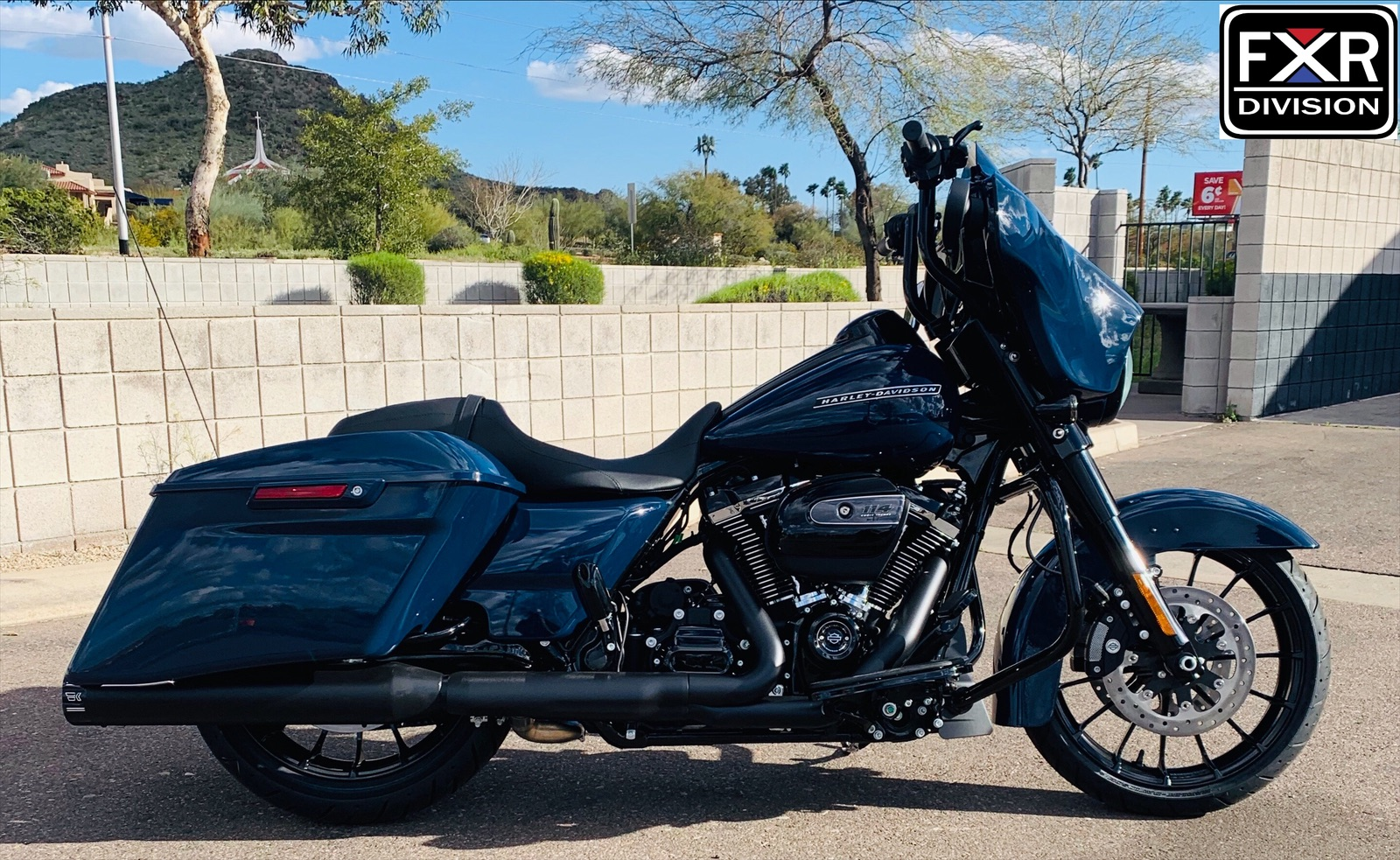 FXR DIVISION Streetwitch Handle Bars for Street Glide Models — FXR Division