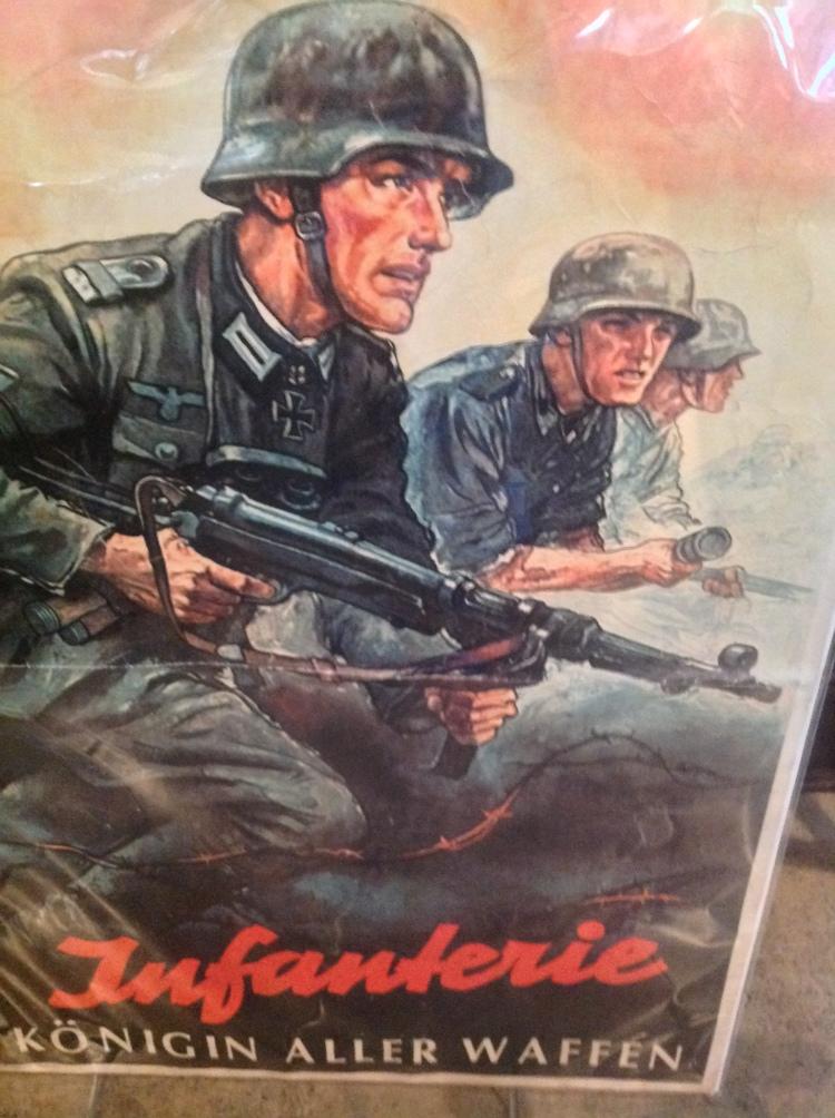 WW2 German Infantry Poster Infanterie