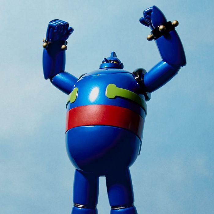 Toybox Sofubi Gigantor 9 Vinyl Figure By Kaiyodo Vampire Robots