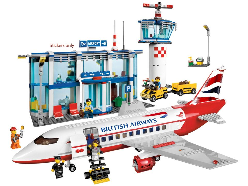 British Airways Livery for LEGO™ 3182 3181 60022 — Home