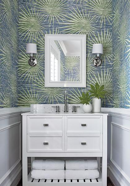 T10146 Palm Frond Wallpaper Jojo Design Studio