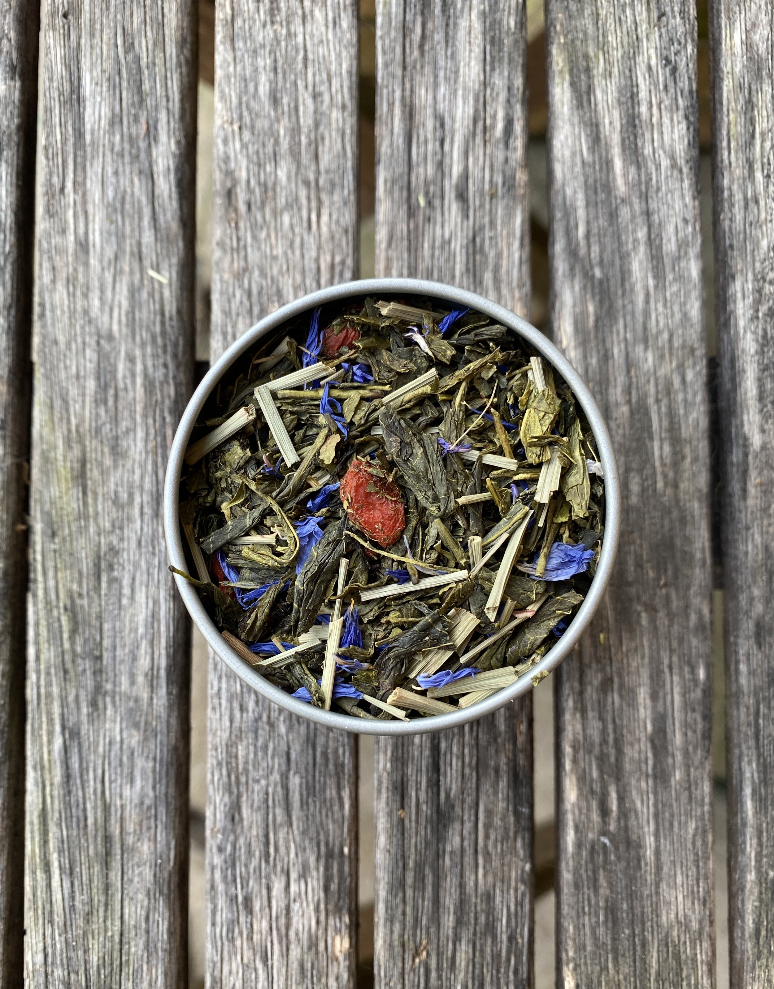Tea Goji Berry Sencha Green Three Roots