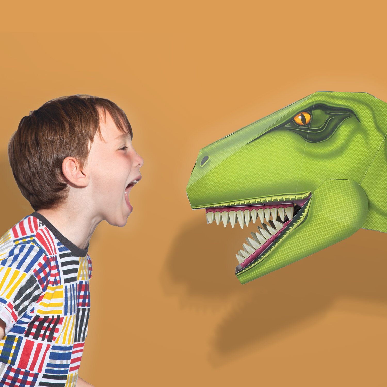 Terrible T Rex Head Make A Dinosaur