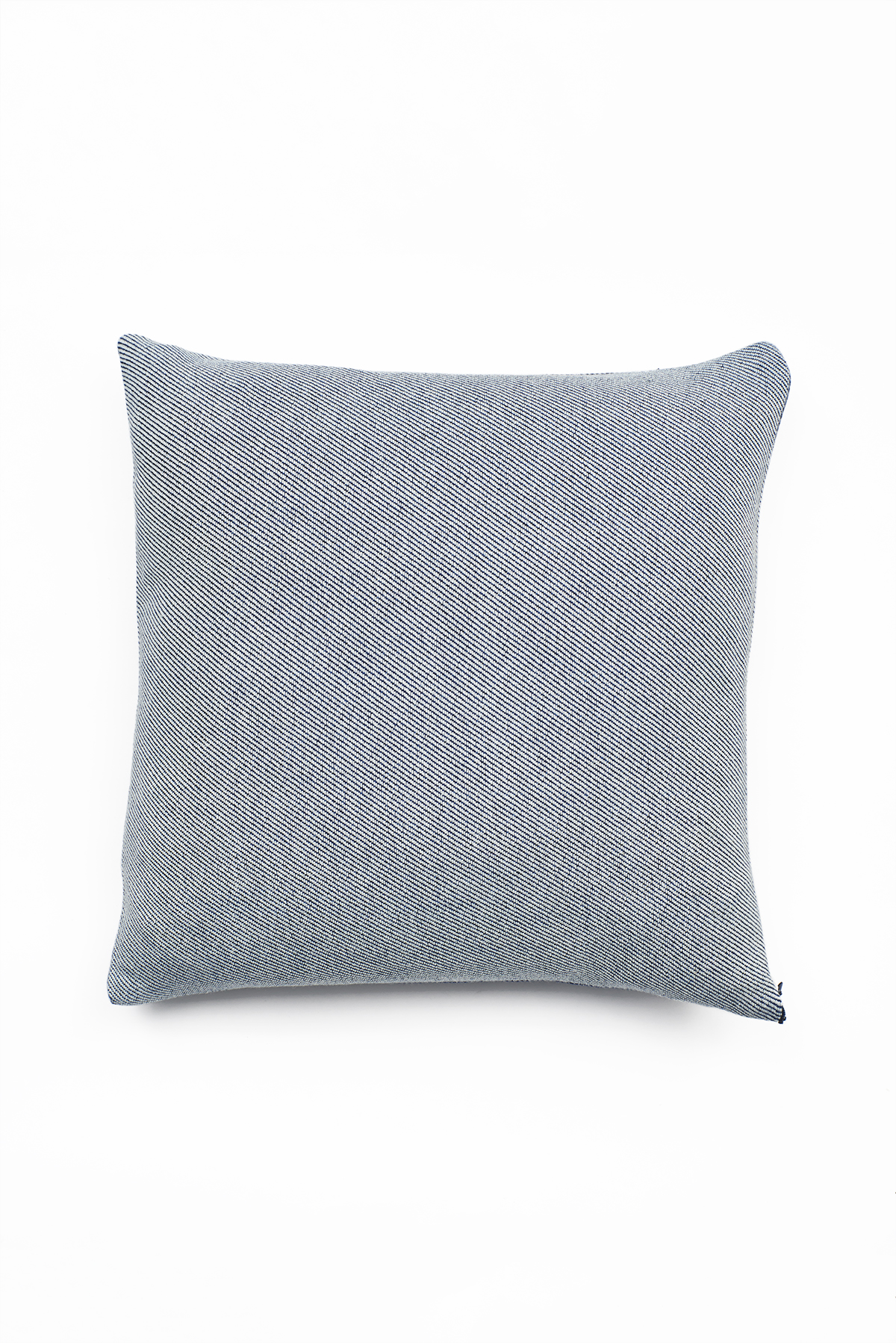 56838e5abb6c 'Lane x London Cloth' Indigo Cotton Cushion — Lane
