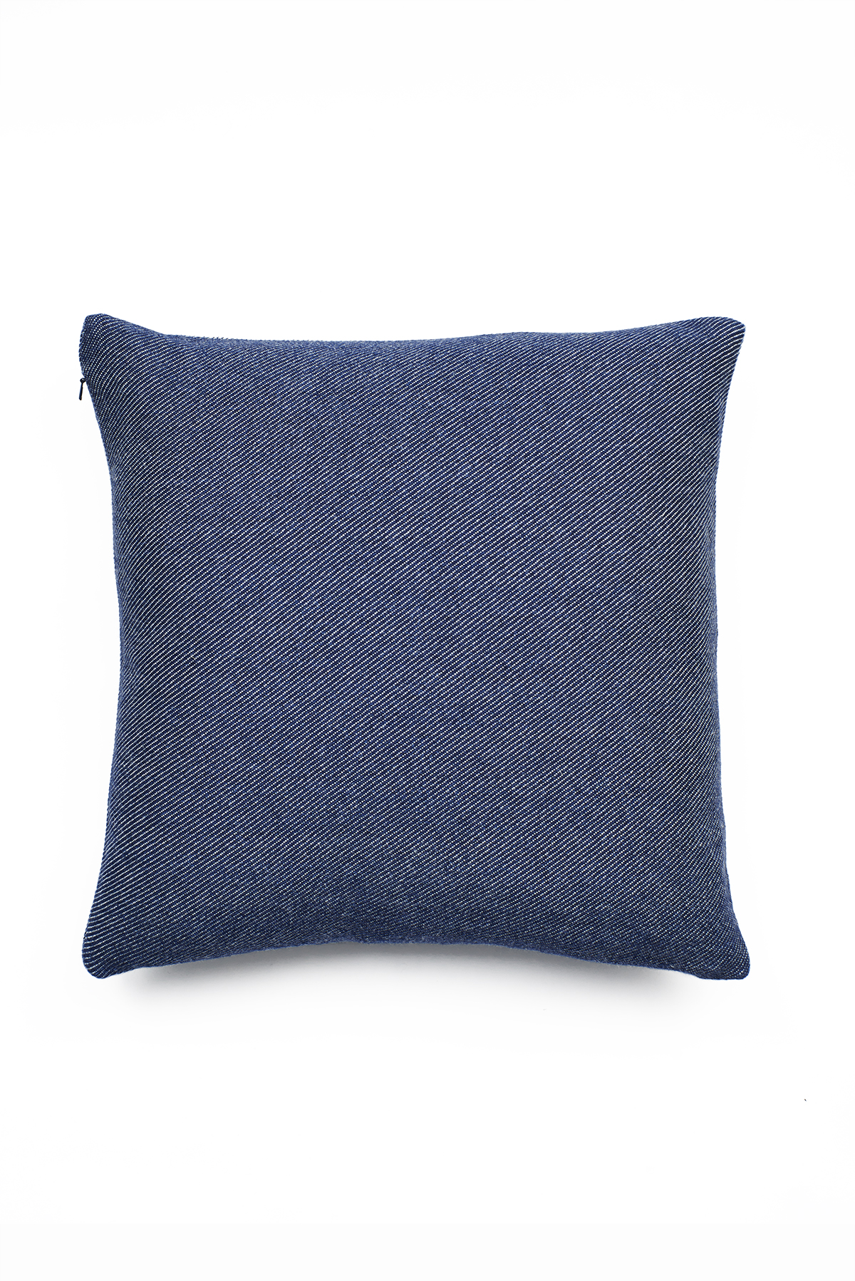 3eff7edd4a1a 'Lane x London Cloth' Indigo Cotton Cushion - Triangle — Lane