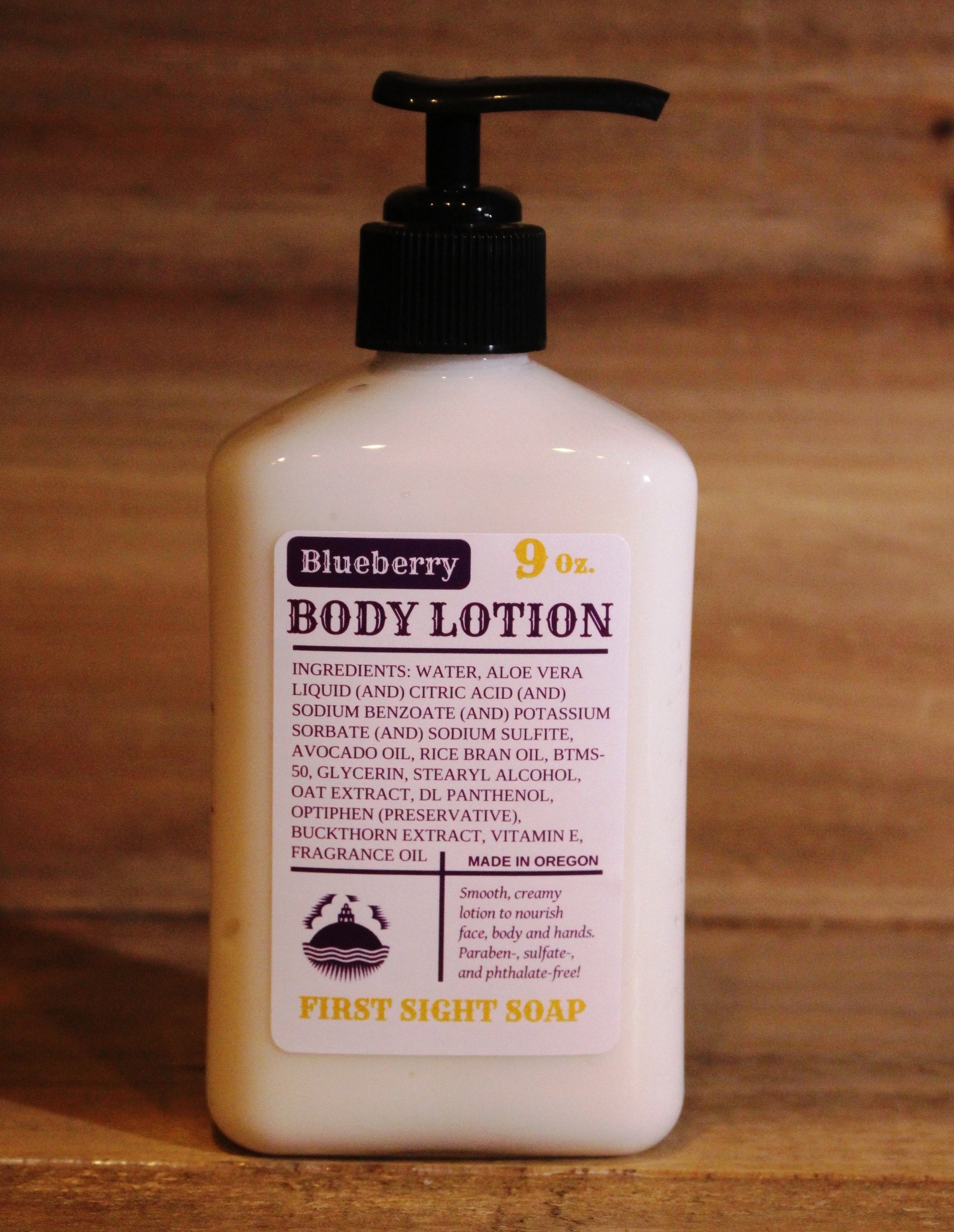 Body Lotion — First Sight Soap