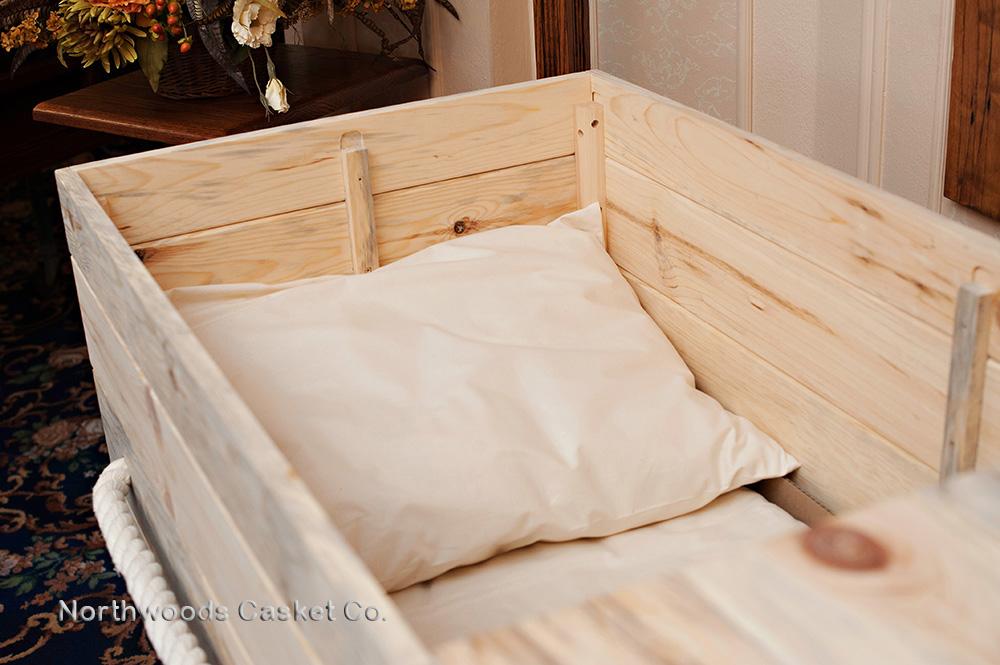 Simple Pine Box — Northwoods Casket Company