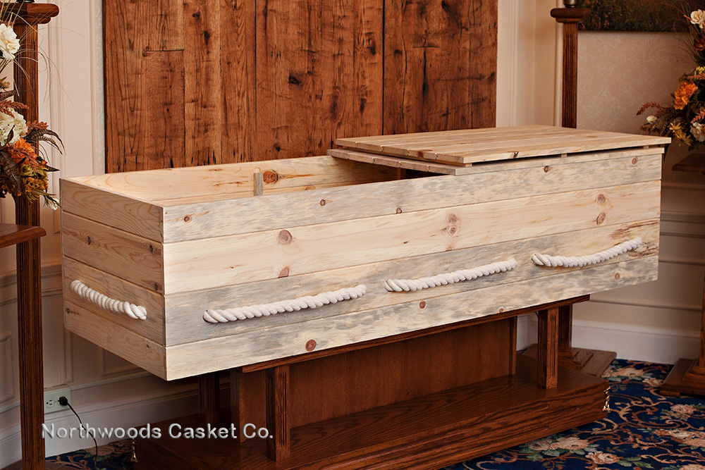 Simple Pine Box — Northwoods Casket Company