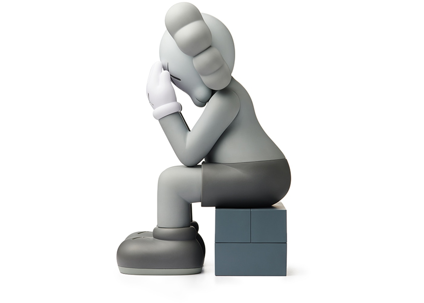 online store fee14 24b74 PASSING THROUGH (OPEN EDITION) GREY - KAWS — DOPE! Gallery