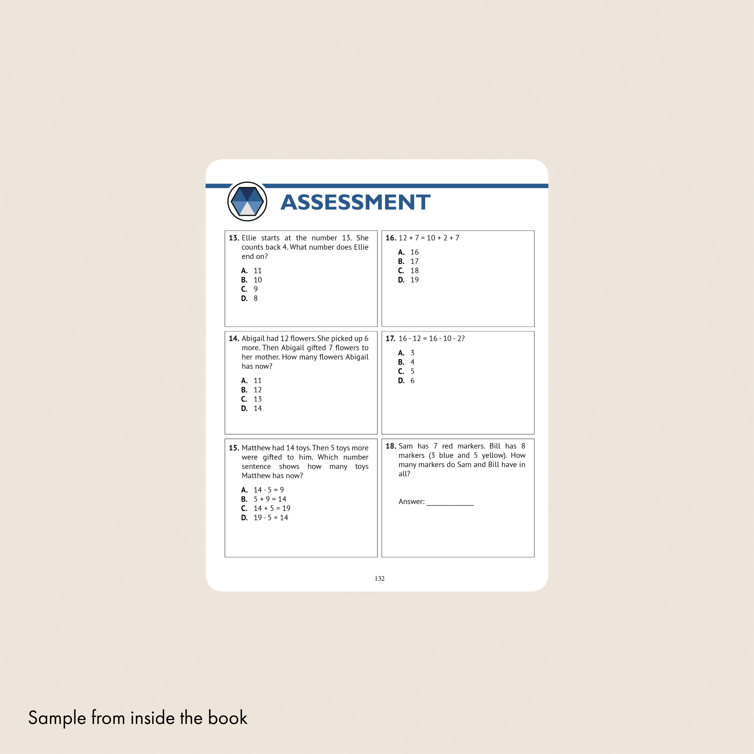 1st Grade Common Core Math Workbook (Daily Practice) — Argo Brothers