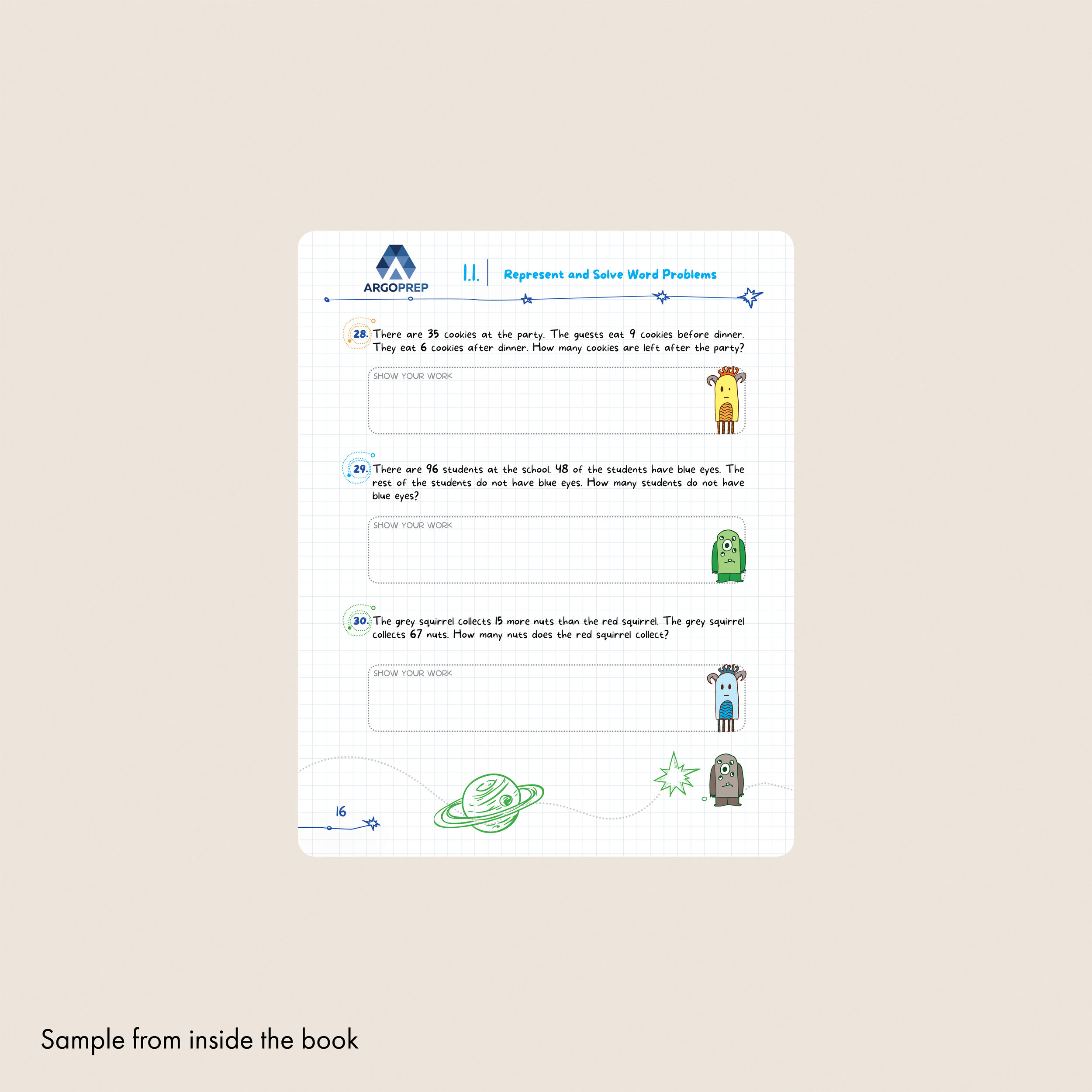 Introducing MATH! Grade 2 by ArgoPrep: 600+ Practice Questions +  Comprehensive Overview of Each Topic — Argo Brothers