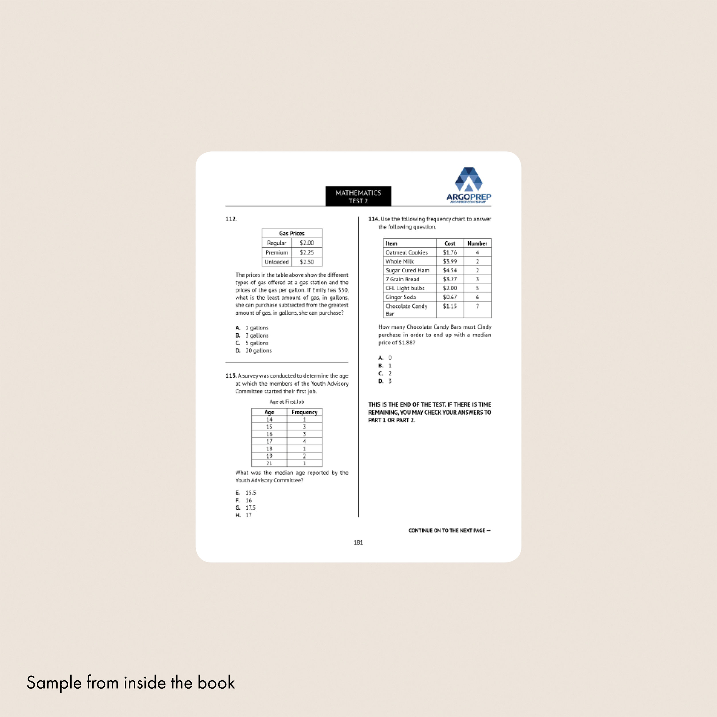 graphic about Shsat Practice Test Printable known as SHSAT 2019 + 5 Entire-Period Train Attempt Argo Brothers