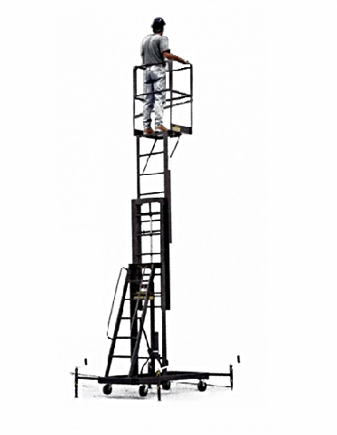 Single Person Maintenance Lift | Custom Made Ladders & Platforms | Fixed &  Rolling Ladders