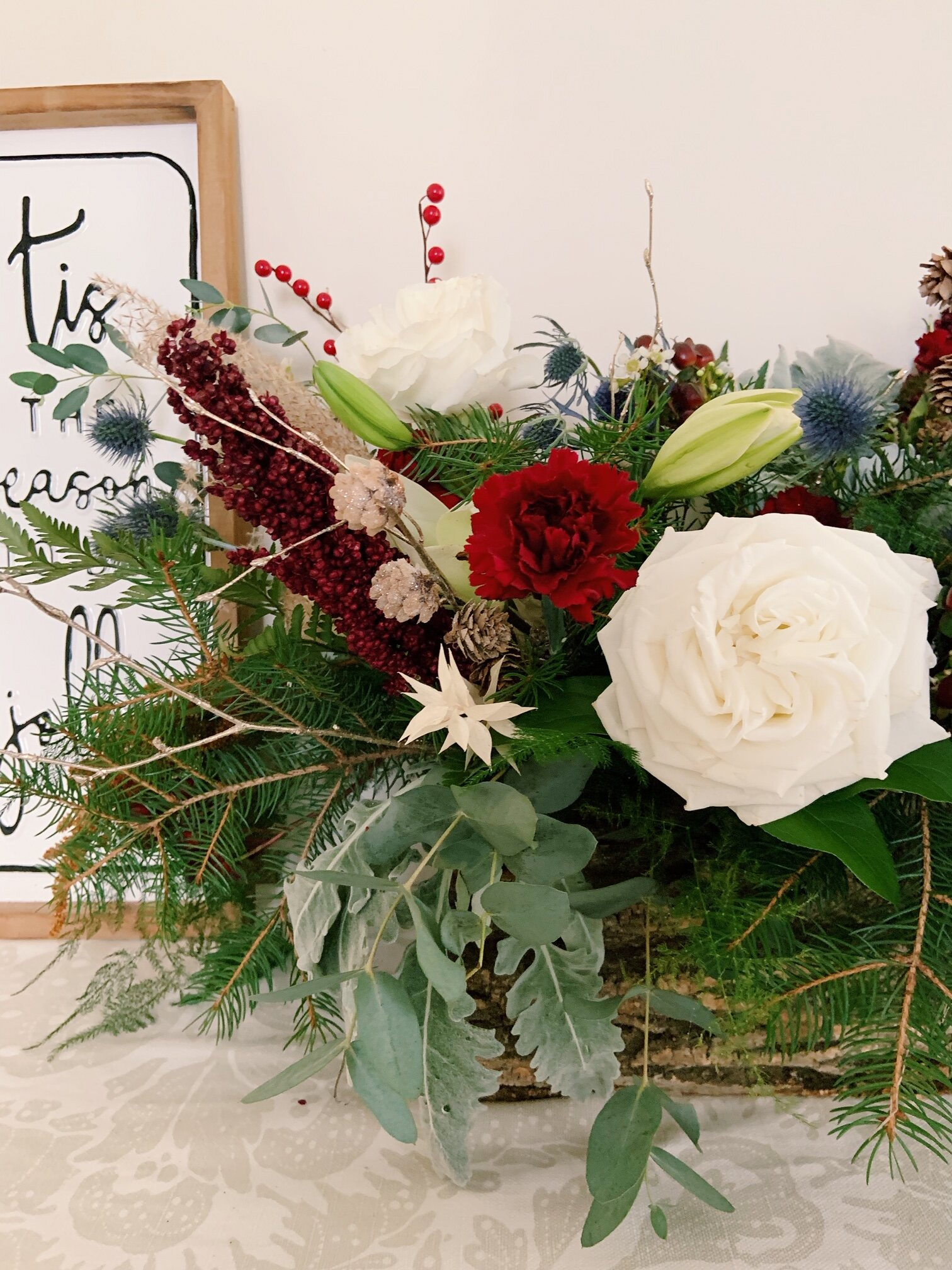 Holiday Floral Arrangements With Pridmore Design Tuesday