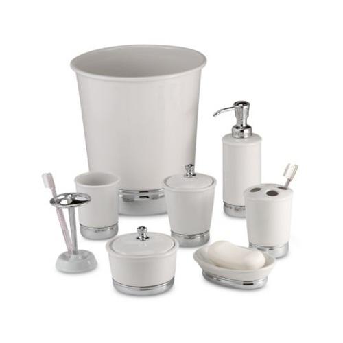 York White Bathroom Accessories Hildreth S Home Goods